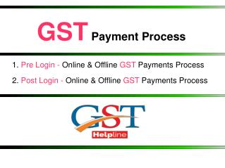 Make GST Payment - A Complete Guide For GST Payment Process
