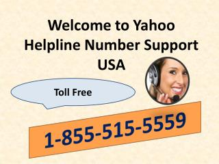 Yahoo Helpline Phone Number 1-855-515-5559 USA