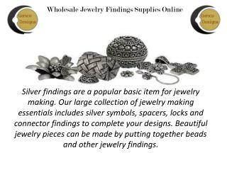 Wholesale Finding Jewelry Suppliers Company in Jaipur