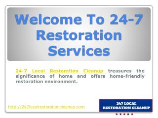 Smoke Damage Restoration Services in USA