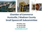 Chamber of Commerce Huntsville