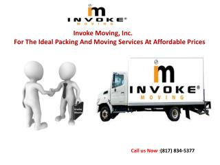 Moving Services Fort Worth