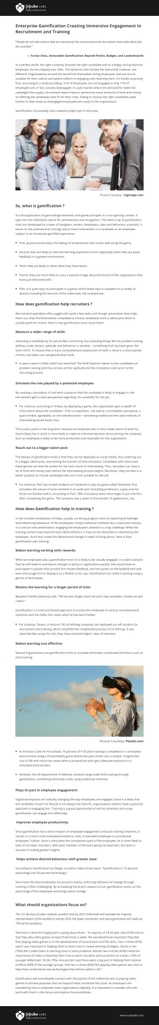 Enterprise Gamification Creating Immersive Engagement In Recruitment and Training