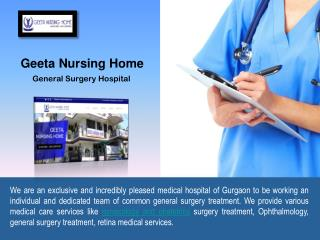Paramount General Surgery Hospital in Gurgaon
