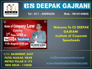 Law Classes in Delhi