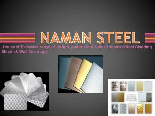 Design Stainless Steel Sheets with Color
