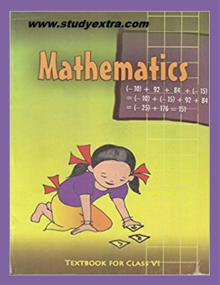 CBSE NCERT Solutions Book-Class-6-Mathematics studyextra