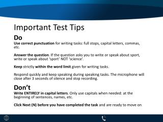 PTE Speaking Tips & Tricks