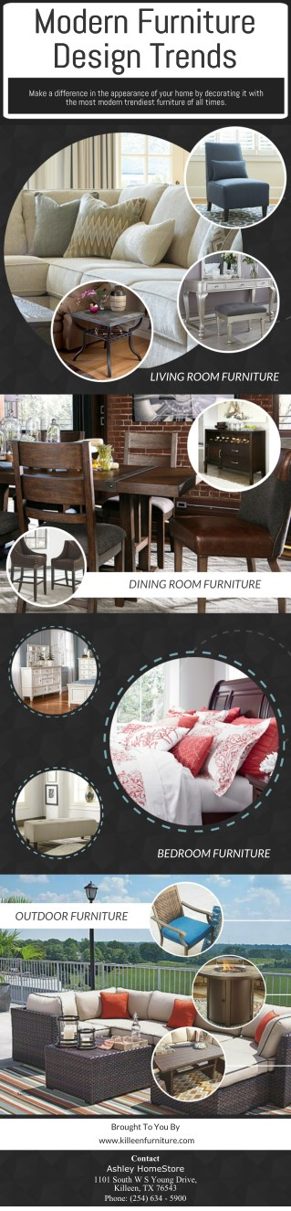 Modern Furniture Design Trends