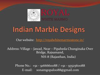 Indian Marble Designs