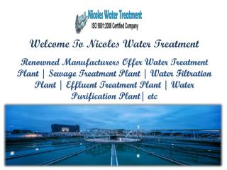 Sewage Treatment Plant in Ghaziabad