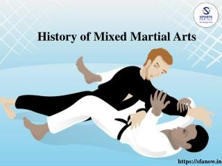 History of Mixed Martial Arts