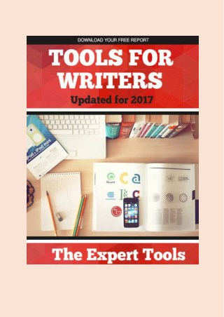 85 Tools for Writers