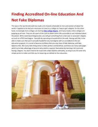 Fake Diplomas, Fake Degrees or Fake College Transcripts for Sale!