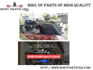 Aftermarket  Parts of Harley Davidson & Other Bikes
