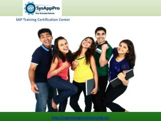 SAP Certification Training Center in Noida, India