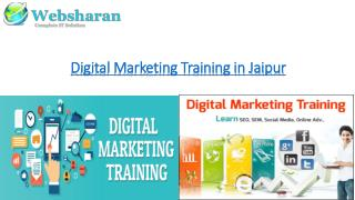 Digital Marketing Training in Jaipur | Seo Training | Websharan Infotech
