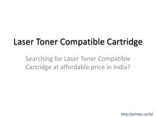 Laser Toner Compatible Cartridge