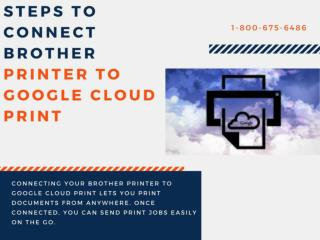 Simply connect  Brother Printer to Google Cloud Printer
