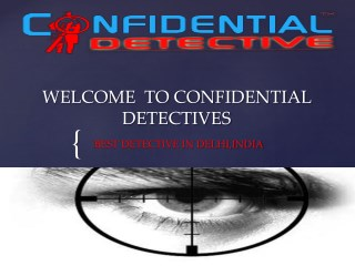 Best Detective Agency in Delhi