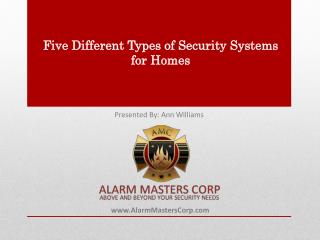5 Types of Security Systems for Homeowners' Better Decision Making