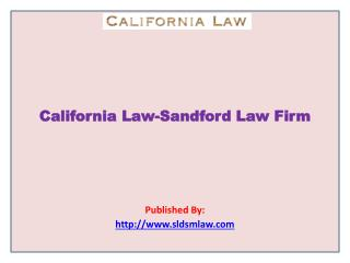 Sandford Law Firm