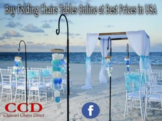 Buy Folding Chairs Tables Online at Best Prices in USA