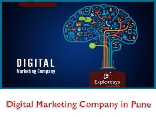 Digital Marketing Company in Pune-Exploresys