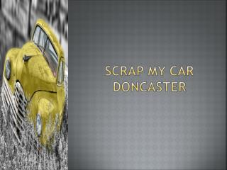 Scrap My Car Doncaster