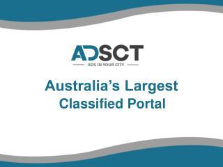 ADSCT Free Classified in Australia