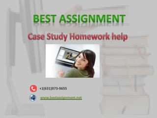 case study homework help