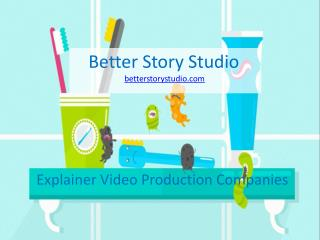 Hire Explainer Video Production Companies to Promote Brand