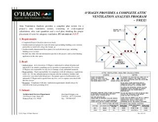 Ppt O Hagin Attic Ventilation Solutions Ohagin Vents
