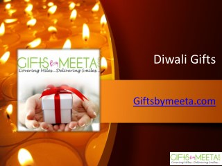 Buy Online Diwali Gifts from Giftsbymeeta