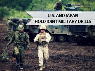 U.S. and Japan hold joint-live fire drills