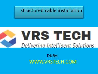 structured cable solutions structured cable installation structured cabling suppliers