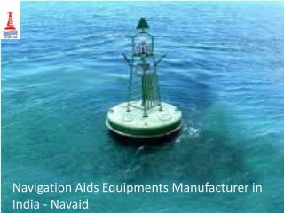 Navigation Aids Equipments Manufacturer in India - Navaid