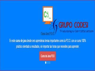 Curso Diplomado de Java - Grupo Codesi