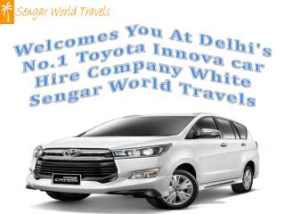 Toyota innova car hire delhi - indiatourtaxi