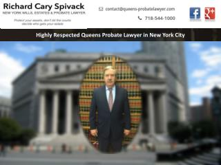 Highly Respected Queens Probate Lawyer in New York City