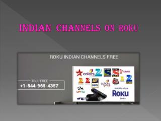 Indian channels on Roku