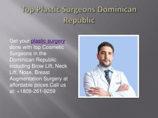Dr. Luis Redondo - Top Plastic Surgeons Dominican Republic