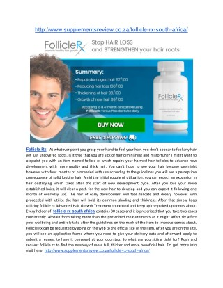 http://www.supplementsreview.co.za/follicle-rx-south-africa/