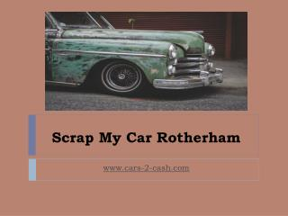 Scrap My Car Rotherham