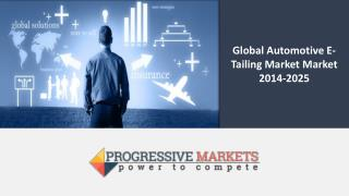 Global Automotive E-Tailing Market - Size, Trend, Share, Opportunity Analysis & Forecast, 2014-2025