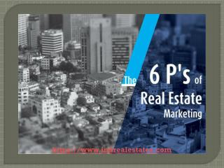 The 6 P's Of Real Estate Marketing | Indrealestates