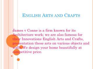 English Arts and Crafts