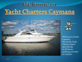 Discover The Cayman Islands On A Private Yacht Charter At Best Price