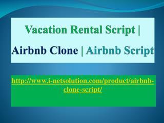 Vacation rental script, Airbnb clone, Airbnb script