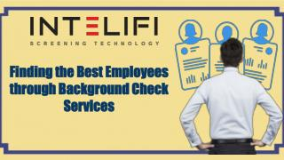 Finding the Best Employees through Background Check Services